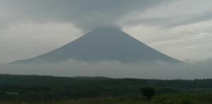 Fuji sombre