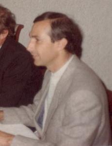 Y. Schemeil directeur de l'IEP de Grenoble, 1981